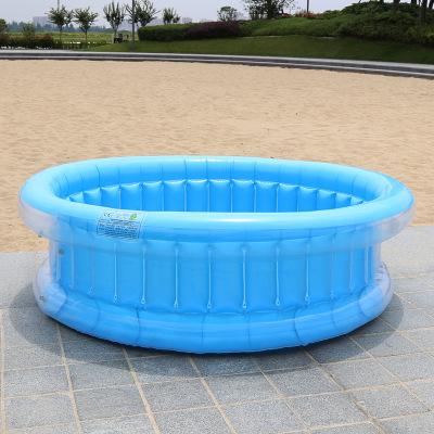 SENYOUBAO bể bơi trẻ sơ sinh Nhà máy trực tiếp 130cm bể bơi trẻ em ba vòng bể bơi trẻ em hồ bơi nước