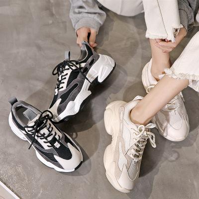 Giày tăng chiều cao Nhà máy trực tiếp giày Laojiao nữ 2019 đầu thu nước ngoài khí hoang dã ánh sáng