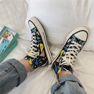 Giày Sneaker / Giày trượt ván Giày mùa thu 2019 mới giản dị thoáng khí phiên bản Hàn Quốc của giày x