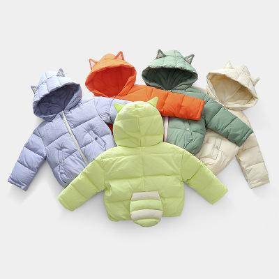 Áo khoác trẻ em Áo khoác trẻ em mùa thu và mùa đông xuyên biên giới cho nam và nữ em bé vừa và nhỏ x
