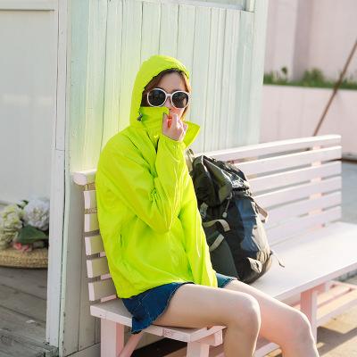 Đồ chống nắng mau khô Quần áo chống nắng đi xe đạp ngoài trời Quần áo nữ chống tia cực tím quần áo c