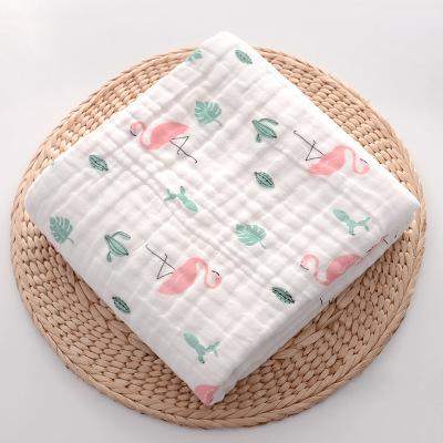 MEIJIABEIER Khăn tắm Khăn em bé, khăn, nấm sáu lớp, gạc bông mật độ cao, khăn, thấm nước, em bé, see