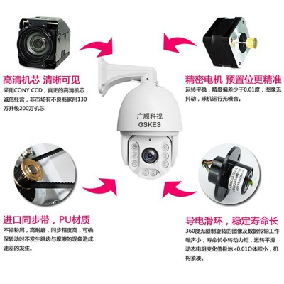 Quả cầu thông minh  Nhà máy bán buôn 3 triệu đêm hồng ngoại 36 lần zoom bóng thông minh 3MP camera g