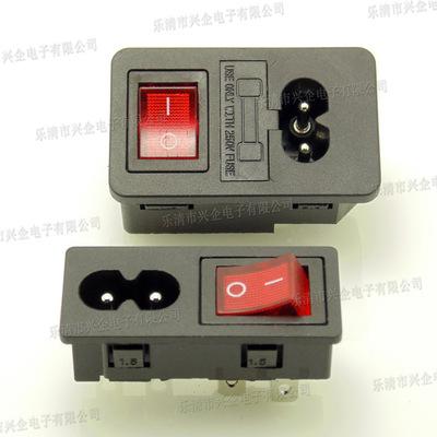Ổ cắm Nguồn nhà sản xuất phông chữ AC loại hai ổ cắm điện ba trong một Bộ lọc DB01 mater đa chức nă