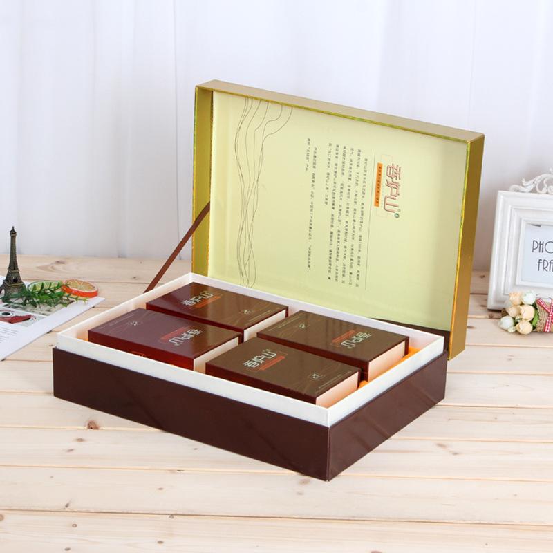 YIWEI NLSX bao bì Cao cấp hộp trà hộp các tông carton tùy chỉnh cuốn sách lật cuốn sách chăm sóc sức