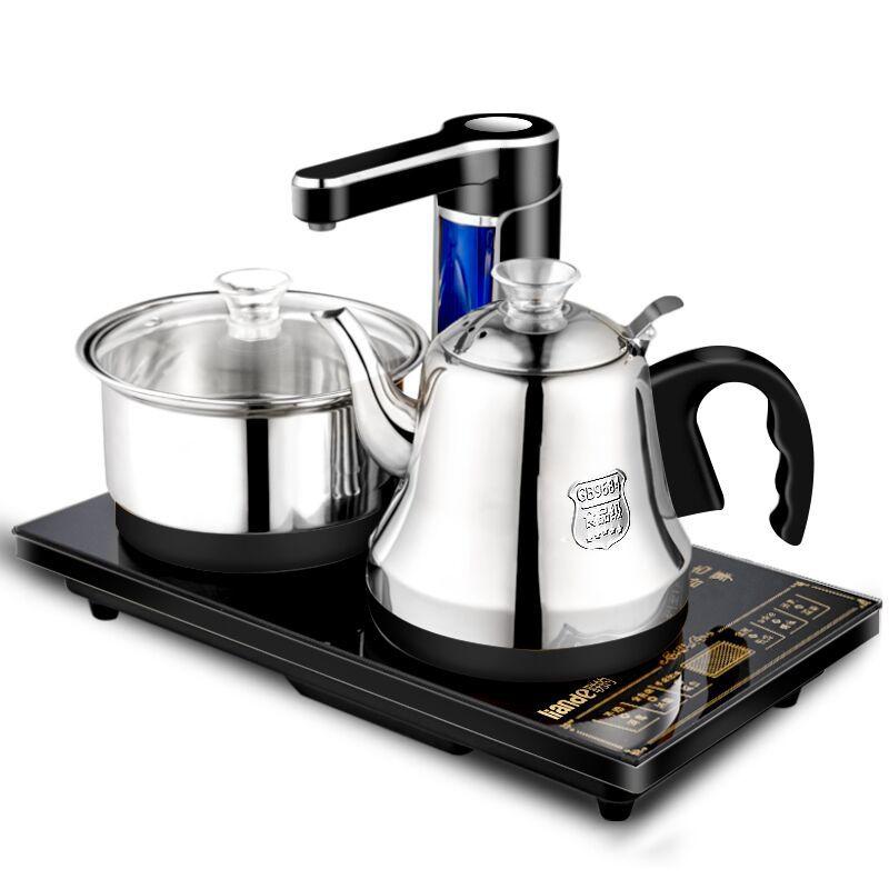 LIANDE Nồi lẩu điện, đa năng, bếp và vỉ nướng Bếp điện từ liên minh bốn trong một đầy đủ thông minh