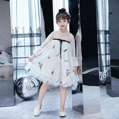 Trang phục dạ hôi trẻ em Váy công chúa mùa hè 2019 siêu mới cho bé gái ngoại quốc Váy Hanfu cải tiến