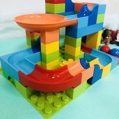 Bộ đồ chơi rút gỗ LETIGO điên hạnh phúc bóng theo dõi khối trượt khối trẻ em khai sáng câu đố đồ chơ