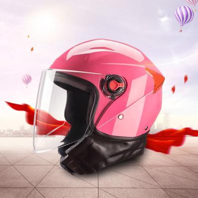 Mũ bảo hiểm xe đạp Nhà sản xuất bán buôn xe máy điện mũ bảo hiểm unisex nửa mũ bảo hiểm mùa đông có