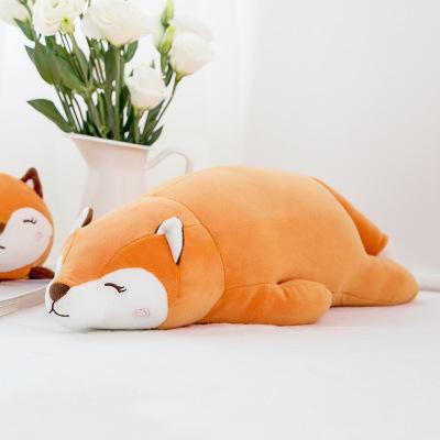 Đồ chơi hoạt hình Sáng tạo mới quỳ cáo búp bê sang trọng đồ chơi trẻ em món quà sinh nhật sang trọng