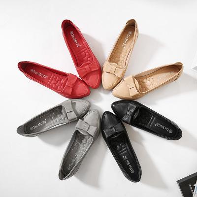 Giày tăng chiều cao Mã kích thước đáy mềm để tăng giày đậu Hà Lan