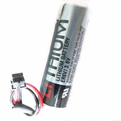 Pin Lithium-ion Hệ thống Toshiba ER6V / 3.6V M70 pin máy CNC pin lithium có phích cắm màu đen