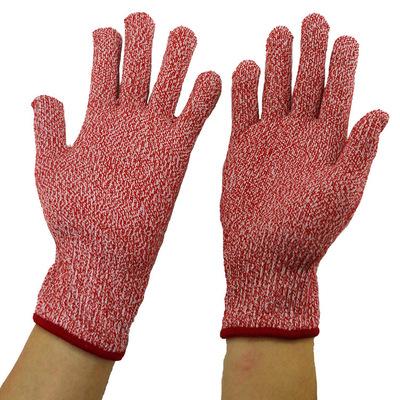 Găng tay chống cắt  Bán buôn tại chỗ Găng tay chống cắt 5 lớp Thực phẩm bảo vệ nhà bếp Cấp cắt chống
