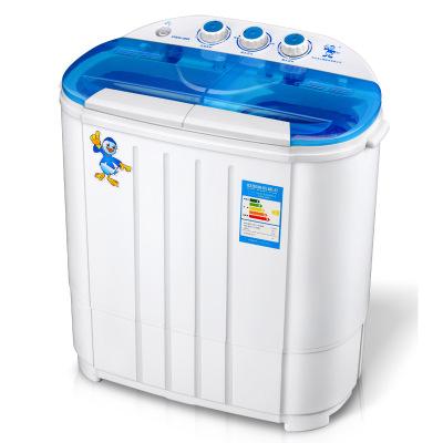 Máy giặt Máy giặt mini thùng đôi máy giặt hộ gia đình nhỏ bán tự động nhà sản xuất máy bán buôn