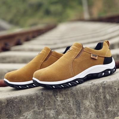 Giày đi bộ Giày đi bộ đường dài 2019 mang giày đi bộ ngoài trời giày nam ngoài trời giày lười không