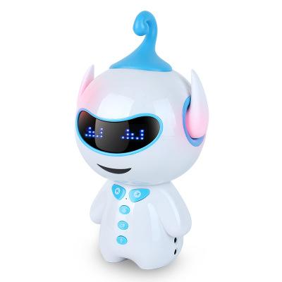 Máy học ngoại ngữ Ai giáo dục sớm Máy học robot thông minh Huba WiFi câu đố trẻ em kèm theo quà tặng