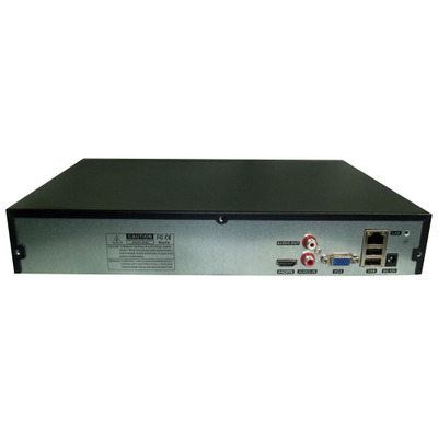Đầu ghi hình camera  Đầu ghi đĩa cứng mạng 32 kênh NVR H.265 + ONVIF 2 vị trí