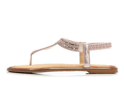 Thị trường giày nữ Dép nữ 2019 mùa hè đế bằng phẳng mũi kim cương thương mại nước ngoài Giày nữ hỗ t