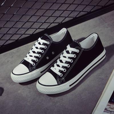 Giày Sneaker / Giày trượt ván Giày vải cổ điển mới lưu hóa giày nam đôi mẫu giày sinh viên mùa thu P
