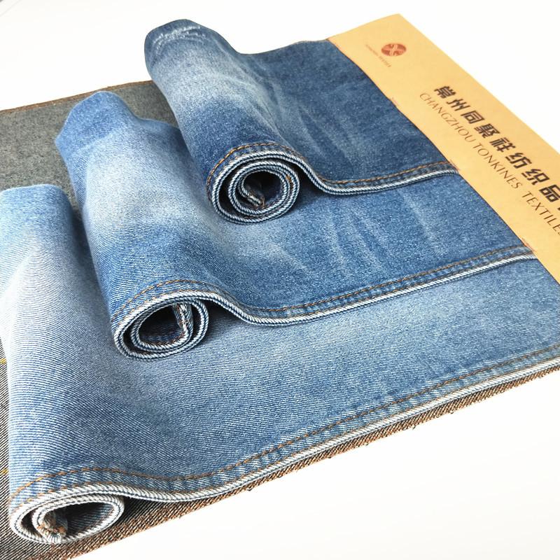 Vải Jean 10 * 7 twill denim wash vải chàm denim 11,5OZ mùa thu và áo khoác dày cao bồi