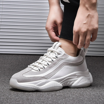 Giày tăng chiều cao Giày nam, giày cũ, giày cao, giày thông thường của Hàn Quốc, giày thường, giày h