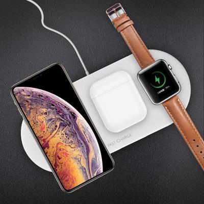 Đầu cắm sạc Bộ sạc không dây ba trong một đa chức năng mới cho tai nghe Apple watch sạc không dây ch