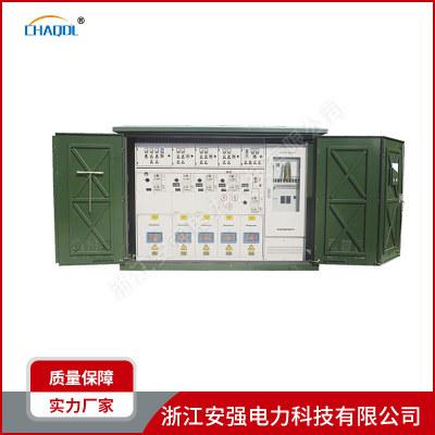 Trạm biến áp điện Kiểu hộp trạm biến áp đúc sẵn kiểu hộp trạm biến áp cao áp đóng và mở trạm vòng mạ