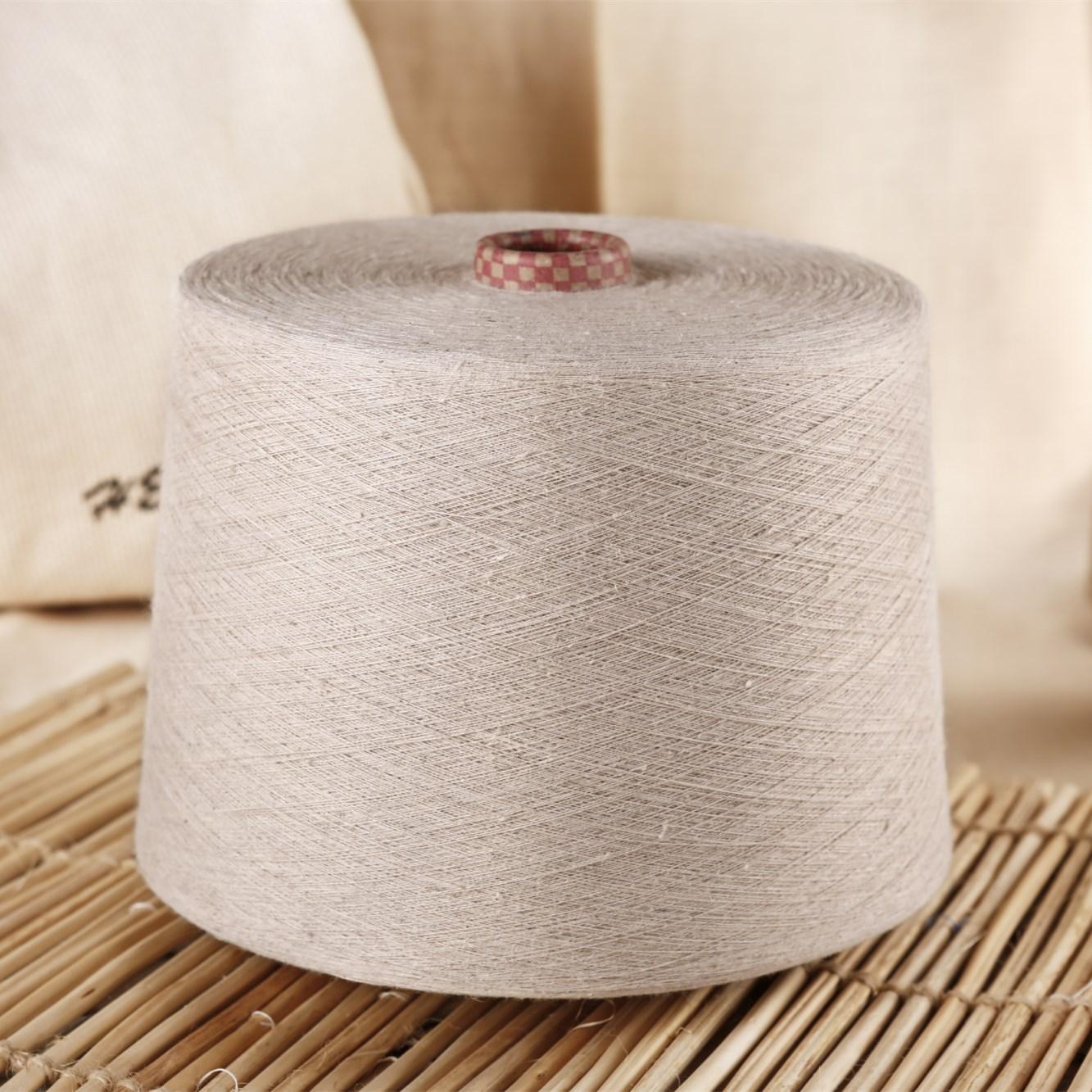 LVZHOU Sợi gai Các nhà sản xuất cung cấp vải lanh và sợi bông pha sợi kéo sợi chải kỹ và sợi bông ph
