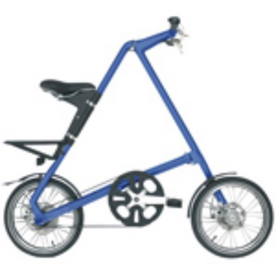 xe đạp gấp (tốc độ Rieter) .