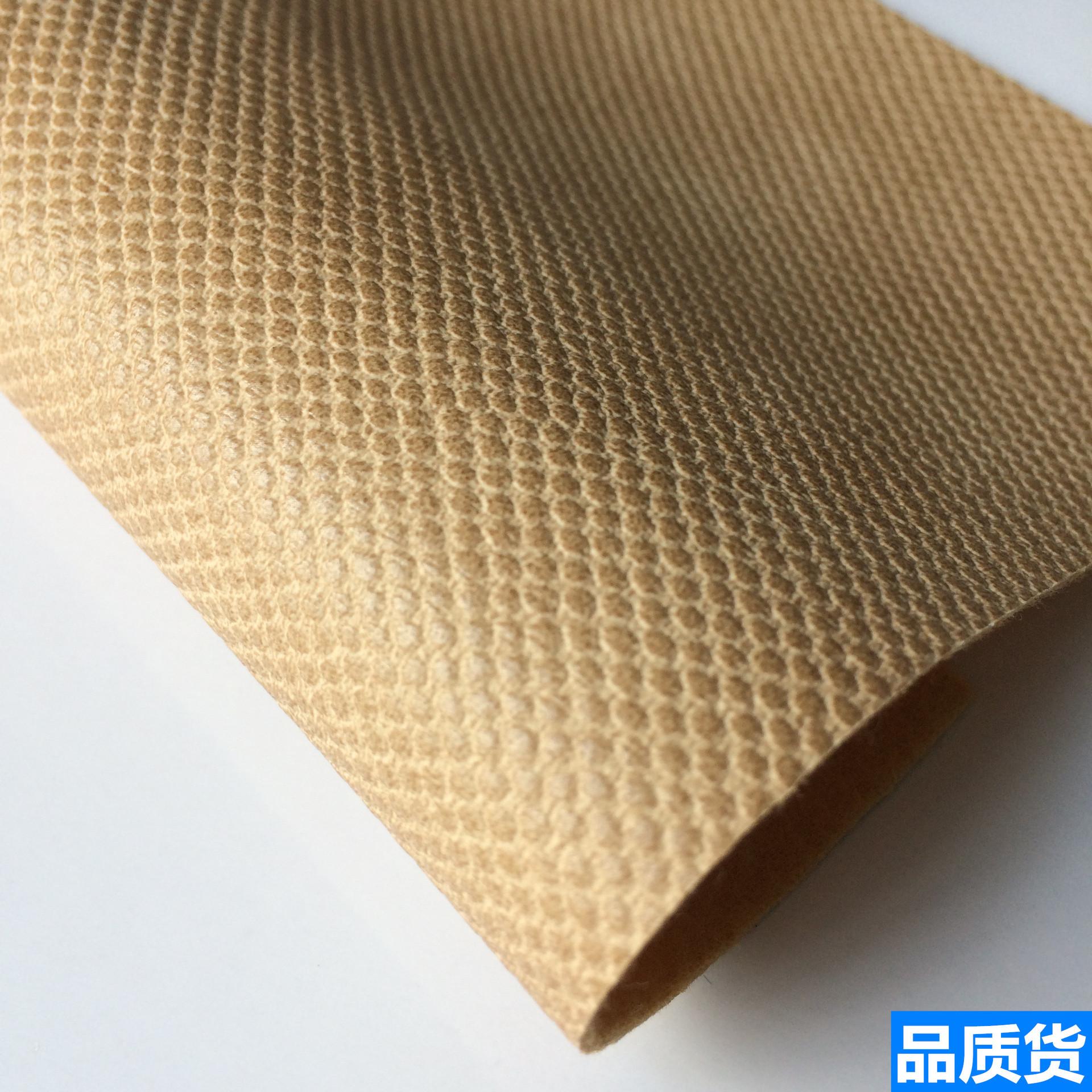 DINGTIAN Da bò Các nhà sản xuất chất lượng cao tại chỗ bán nóng Bán vải PU nhỏ chấm nhỏ Vải thảm trả