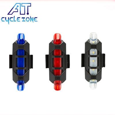 Đèn xe Đèn hậu xe đạp Sạc USB cảnh báo an toàn Đèn ngoài trời LED nổi bật Đèn xe đạp Phụ kiện xe đạp