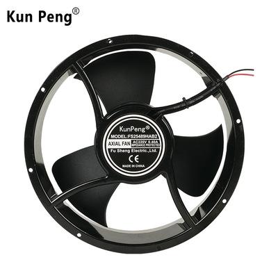 Quạt điện, quạt máy Nhà sản xuất Thâm Quyến Fushun cung cấp quạt khung gầm tròn FS25361 hộp nhiệt độ