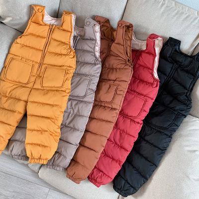 Quần trẻ em Wow, mát mẻ, bán chống mùa, yếm mùa thu đông trẻ em, áo vest trẻ em, quần cotton
