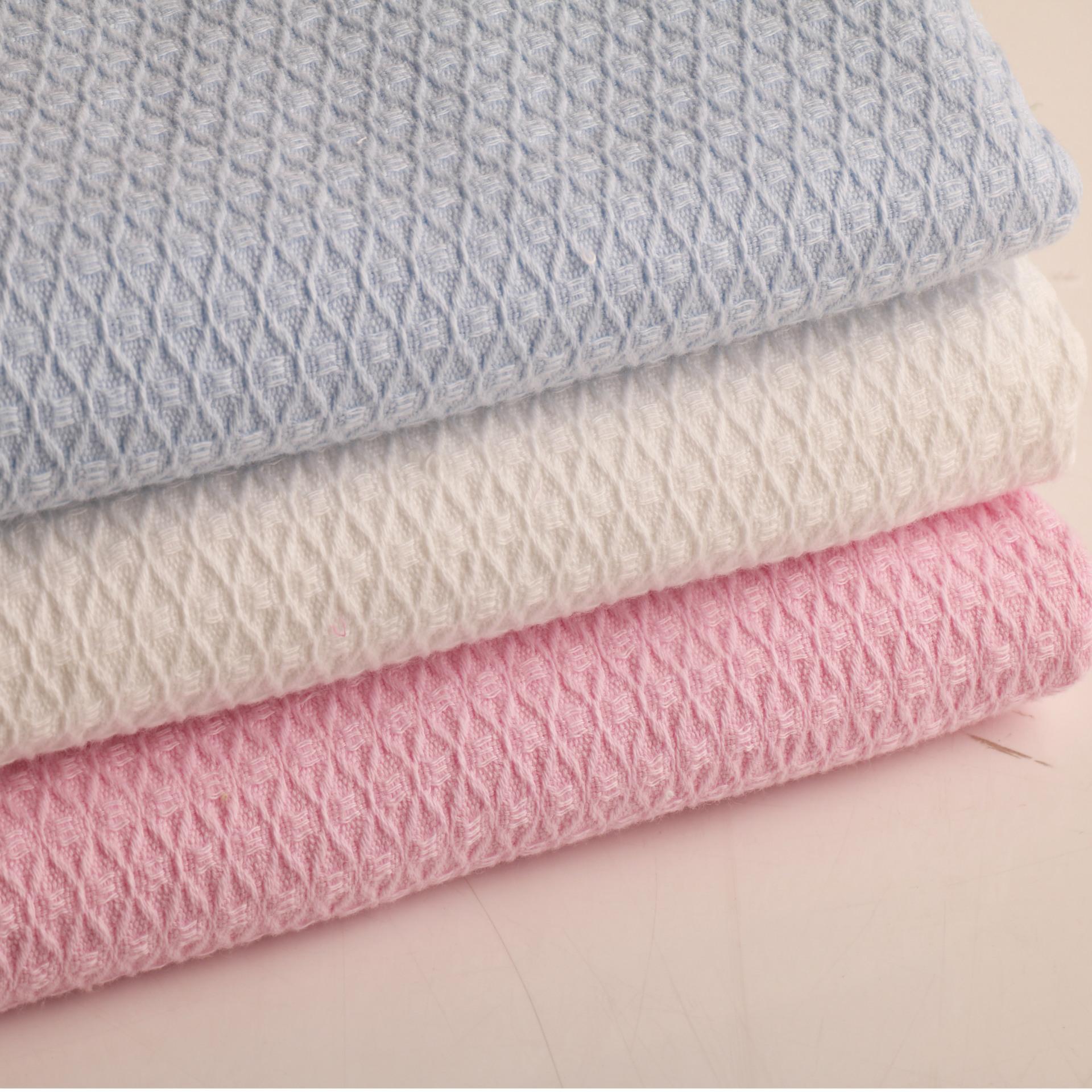 XINMEISHU Vải khăn lông Các nhà sản xuất cung cấp bánh bông gòn đan vải werry terry vải waff đồ ngủ