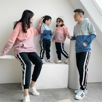 Áo thun gia đình Quần áo mùa đông phụ huynh-trẻ em 2019 thương hiệu áo len thủy triều mới với một gi