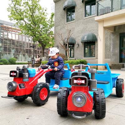 Xe điện mô hình xe kéo dành cho trẻ em .