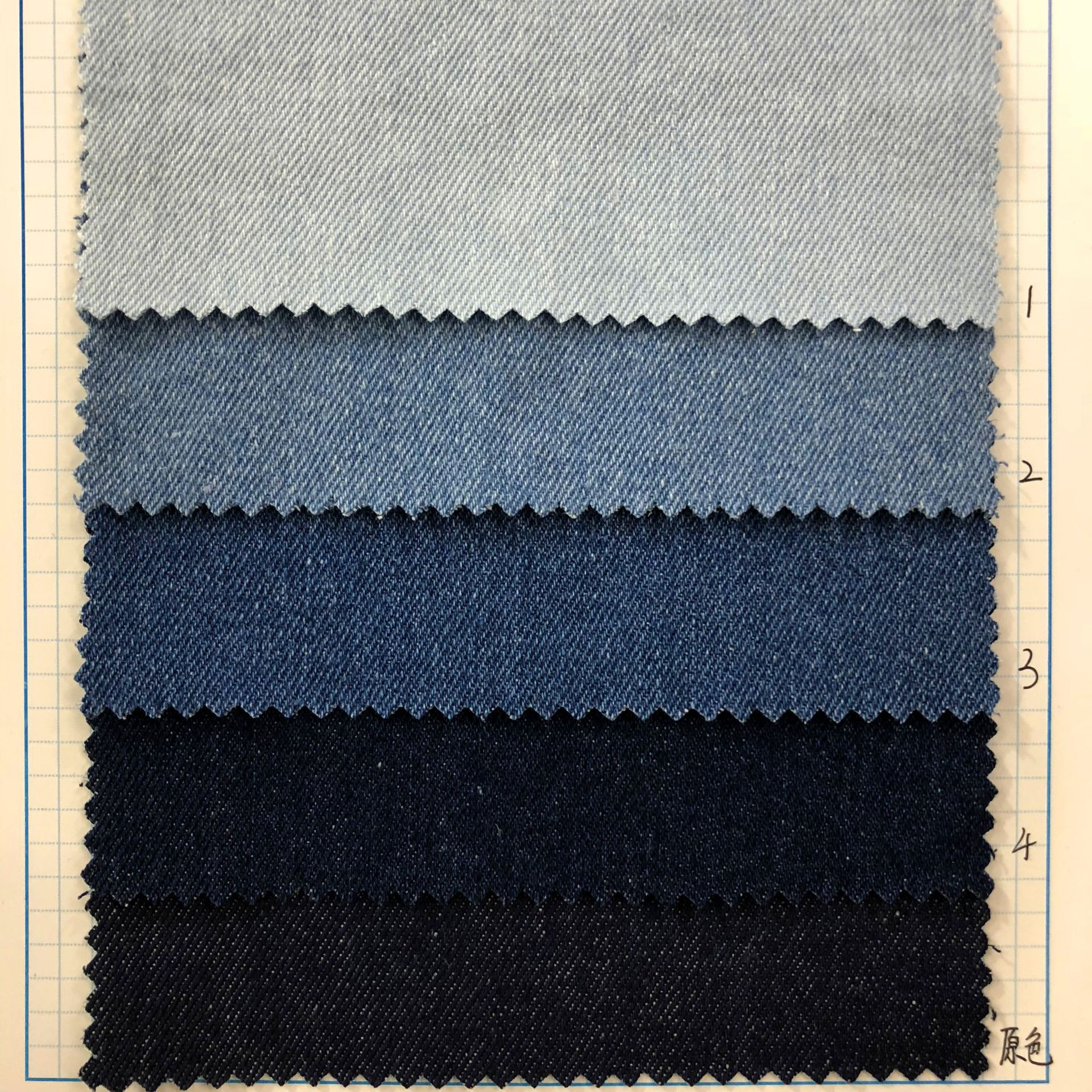 HONGFENG Vải Jean 1019 cotton denim vào mùa thu năm 2019 Váy denim cho trẻ em bùng nổ