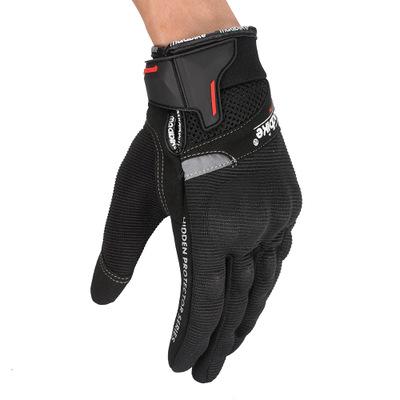 Găng tay bảo hộ Găng tay đi xe đạp ngoài trời đua xe mô tô găng tay màn hình cảm ứng đầy đủ găng tay
