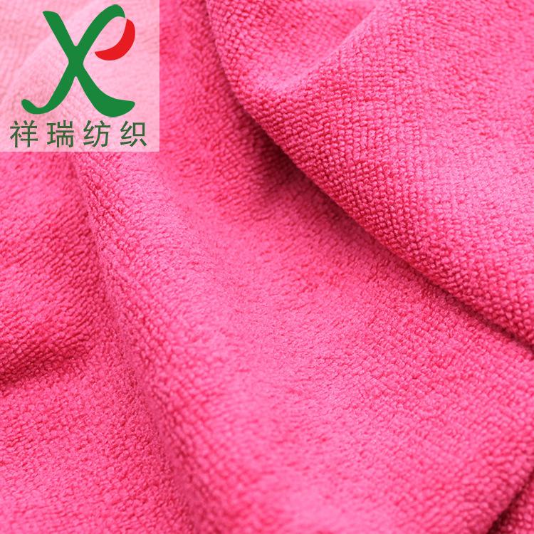 Vải khăn lông Jacquard terry vải siêu thấm 200K polyester microfiber terry vải Microfiber rửa xe vải