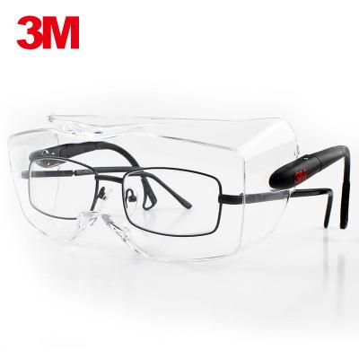 Kính bảo hộ  Kính an toàn 3M 12308 có thể đeo kính cận thị chống sương mù chống bụi cát chống trầy