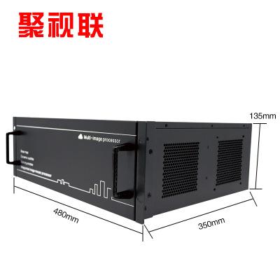 Hệ thống giám sát Matrix Bộ xử lý ghép nối đa màn hình 4K H.265 mạng ma trận giải mã kỹ thuật số HDM