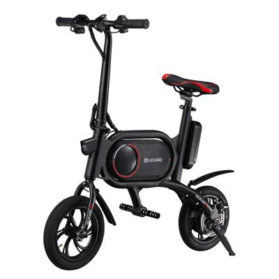 Xe đạp điện gấp đôi phanh đĩa 12 inch mini .