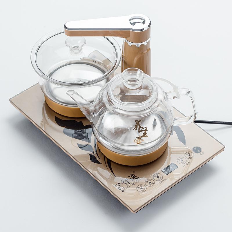 FUWANQIAN Nồi lẩu điện, đa năng, bếp và vỉ nướng Bếp điện từ 37x23 nhúng máy nước nóng tự động ấm đu