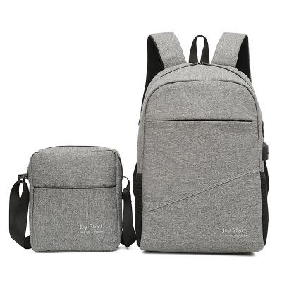 Bộ ba lô và túi xách đeo chéo bằng vải .