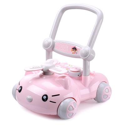 YINGJUE Xe tập đi Với âm nhạc xe tập đi cho bé đa chức năng có thể điều chỉnh tốc độ Xe tập đi cho b
