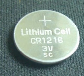 Pin Lithium-ion Nhà máy trực tiếp bảo vệ môi trường chất lượng cao nút CR1216 pin lithium 3V