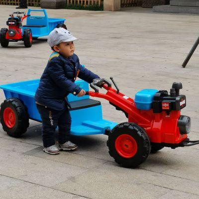 Xe điện mô hình xe kéo mini dành cho trẻ em .