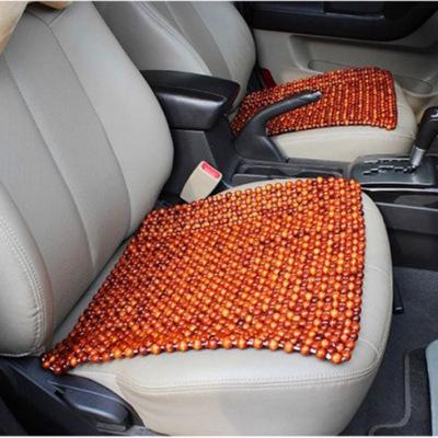 Đệm massage Đệm ghế gỗ hồng mộc đệm bốn mùa phổ lạnh mùa hè xe gỗ hạt mát mat nhà máy bán buôn