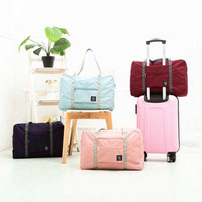 Túi xách du lịch Có thể tùy chỉnh dung lượng lớn hành lý lưu trữ túi gấp túi có thể gập lại túi du l