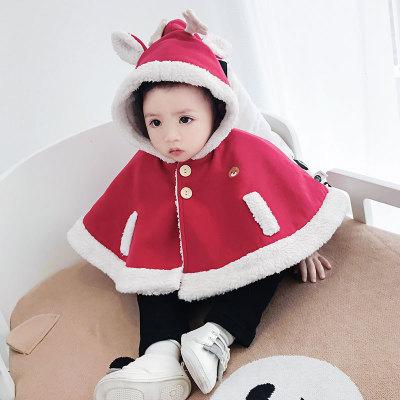Khác Áo choàng trẻ em  Quần áo trẻ em mới áo choàng bé dày lên khỏi áo choàng trẻ sơ sinh đi chơi m